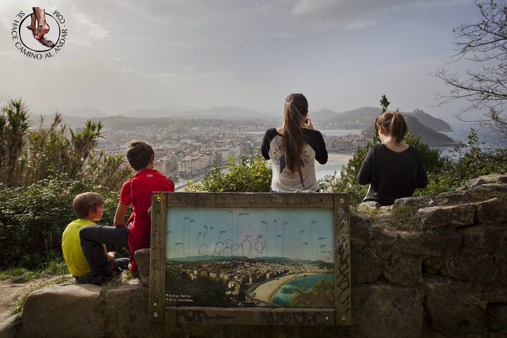 Miradores de San Sebastian vistas monte Ulia