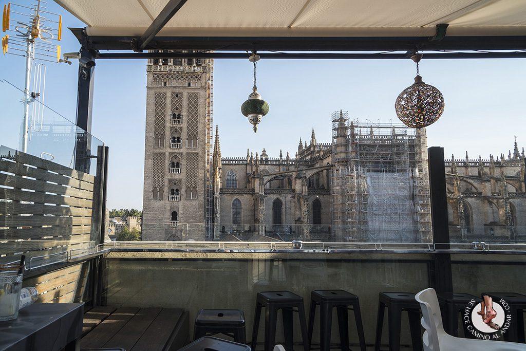 Miradores de Sevilla Hotel EME Terraza