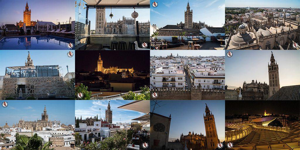 Miradores de Sevilla vistas a la Giralda