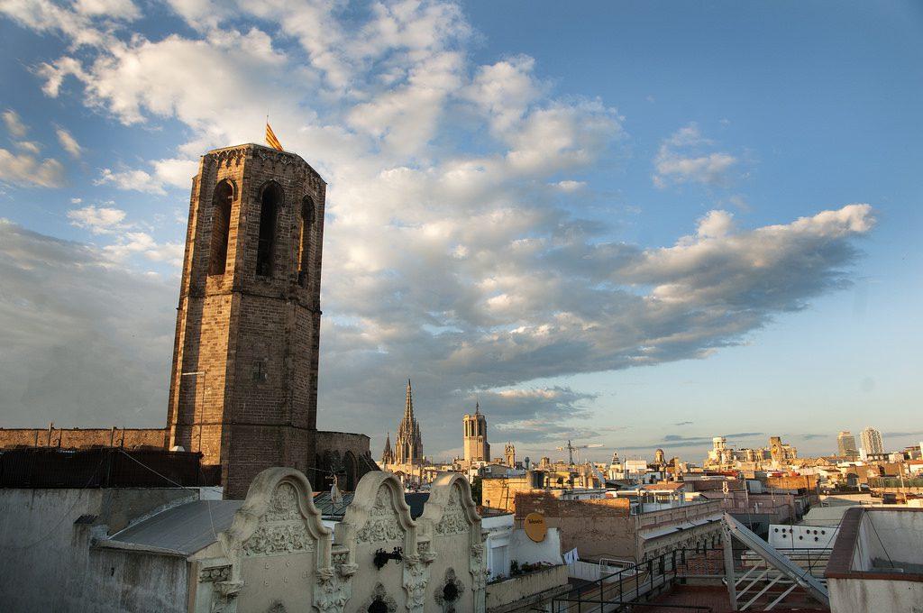 Miradores de Barcelona Basílica Santa María del Pi