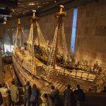El Museo Vasa, con el galeón naufragado del siglo XVII
