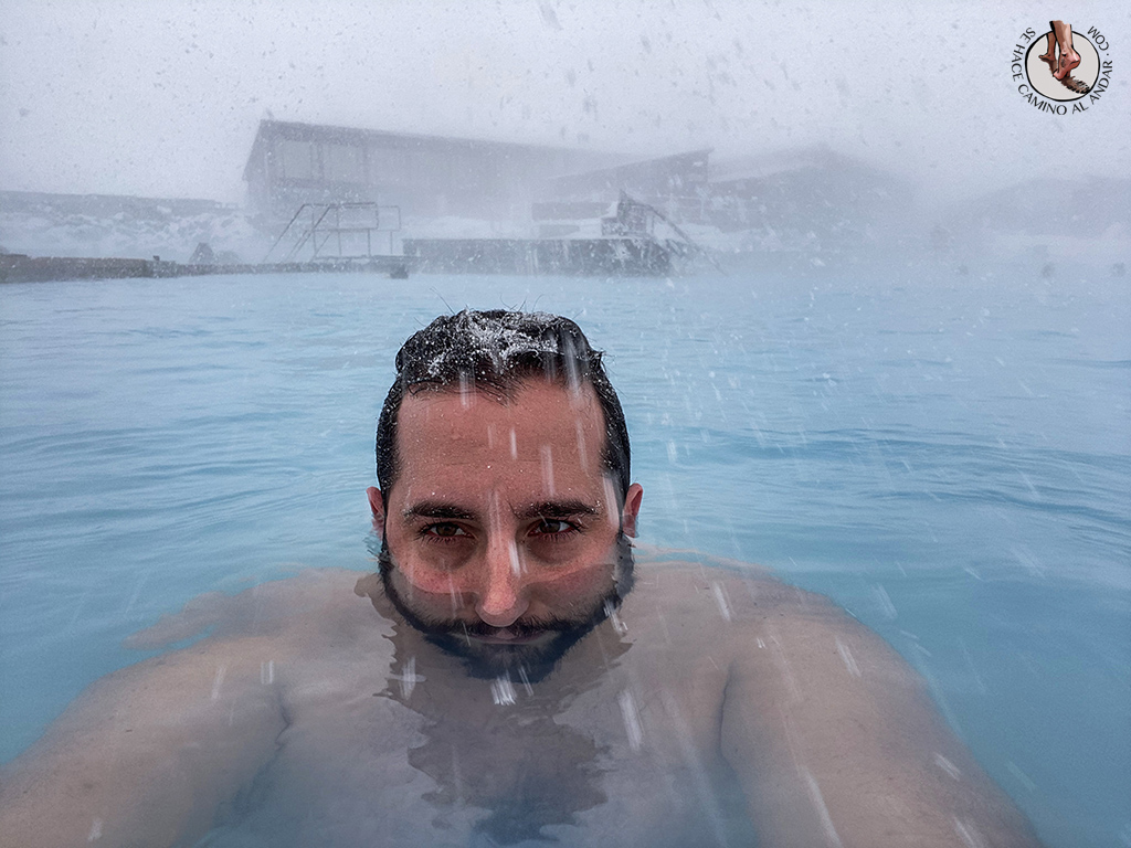 SPA geotermal Myvatn Nature Baths tormenta nieve