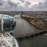 La noria London Eye, mirador para ver Londres desde las alturas