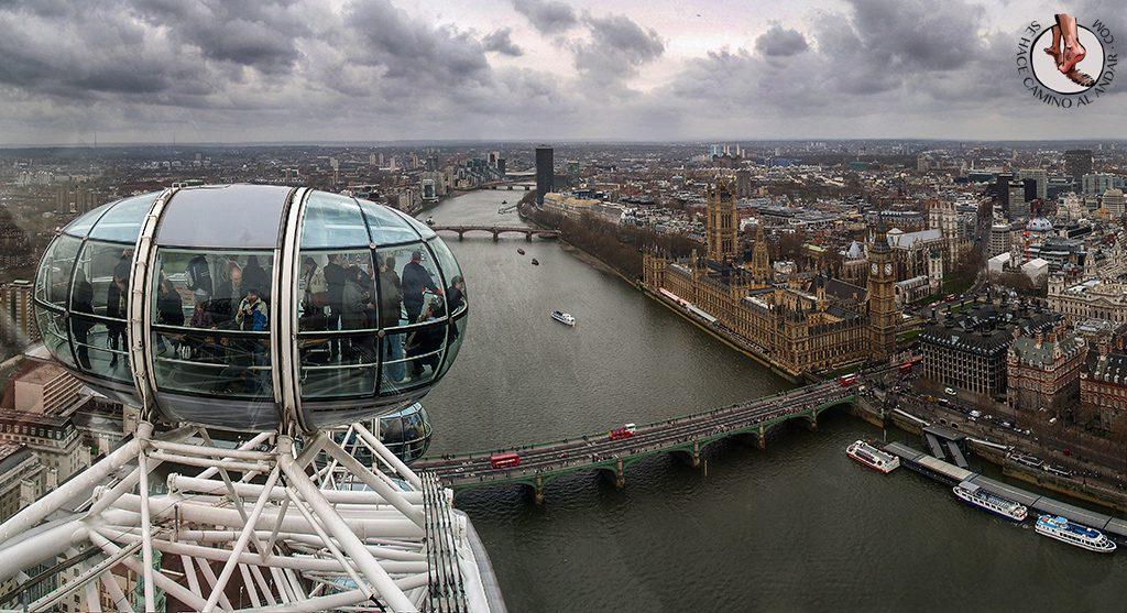 Noria London Eye mirador ver Londres