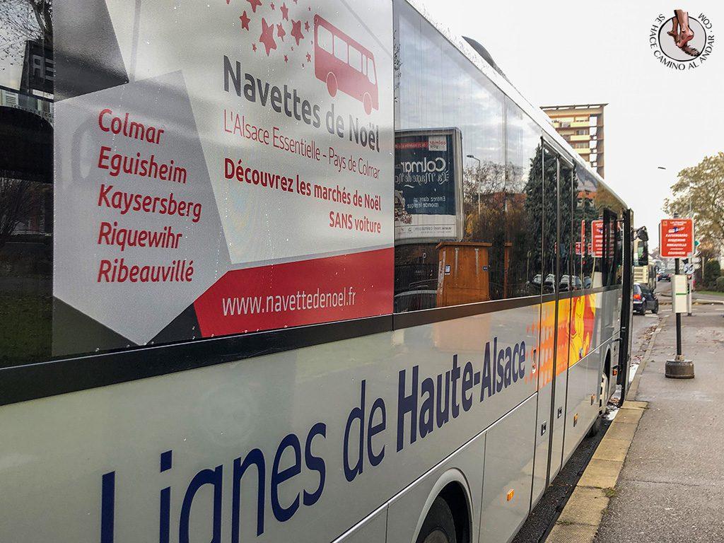 Organizar un viaje a Alsacia en Navidad Bus Navettes de Noel