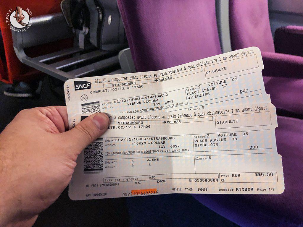 Organizar un viaje a Alsacia en Navidad Estrasburgo Colmar tren