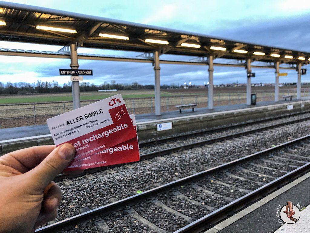 Organizar un viaje a Alsacia en Navidad aeropuerto Estrasburgo
