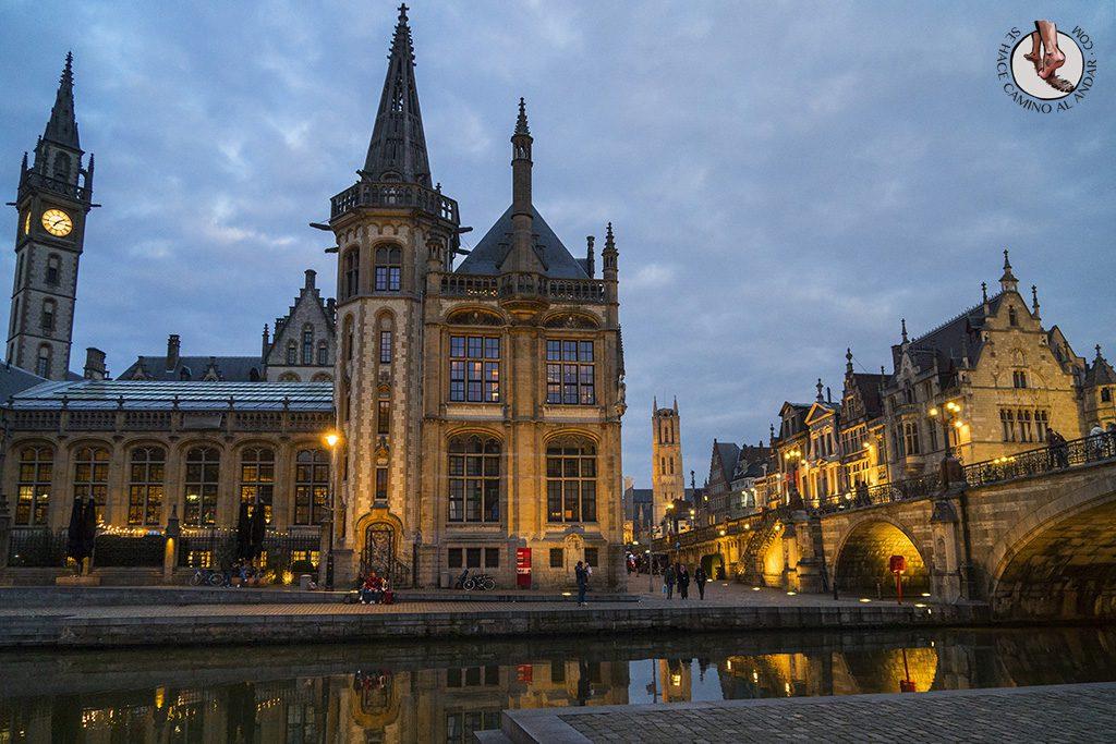 Organizar un viaje a Gante
