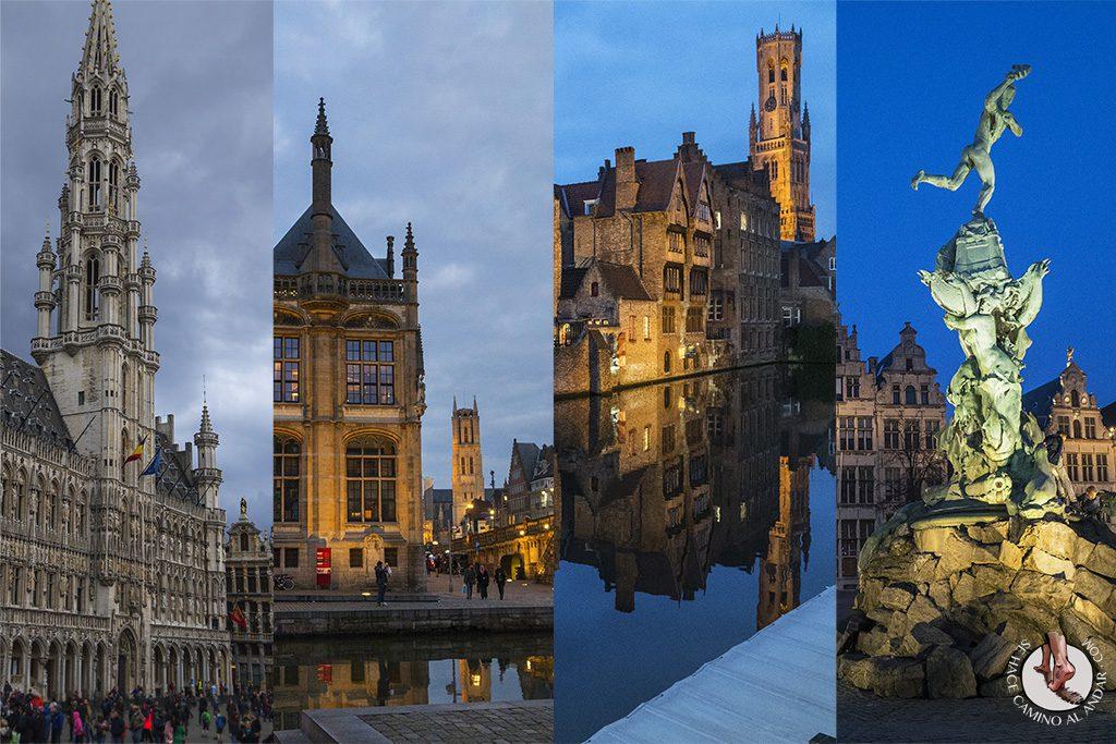 Organizar viaje Bruselas Gante Brujas Amberes