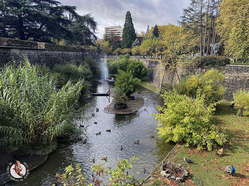 Pamplona jardines taconera animales