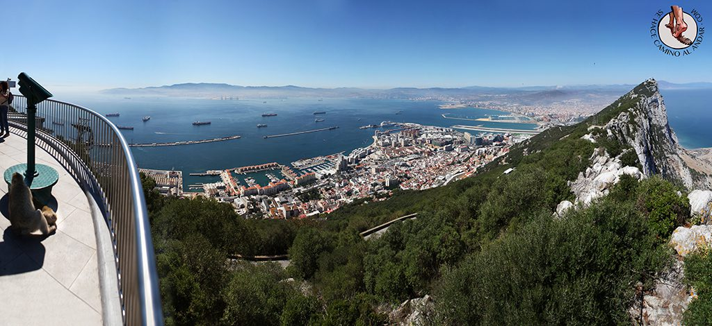 Panorámica mirador Gibraltar