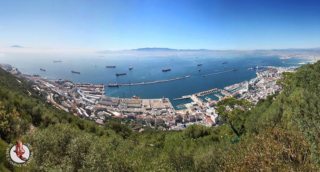 Panorámica trasera Gibraltar