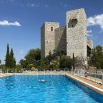 Parador de Jaén; cómo dormir en un castillo con piscina
