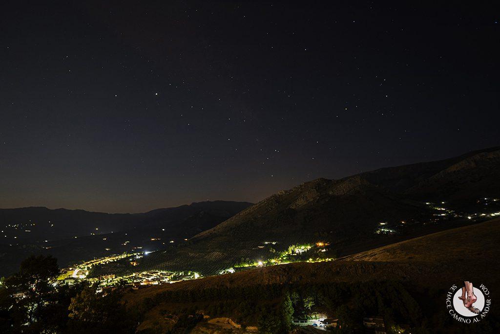 Parador jaen habitacion vistas noche