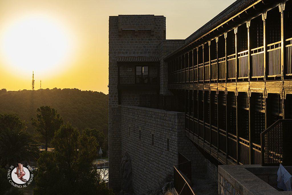 Parador jaen terraza torre