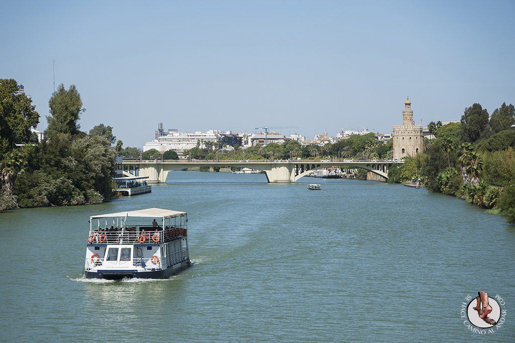 Paseo en barco por el Guadalquivir Sevilla