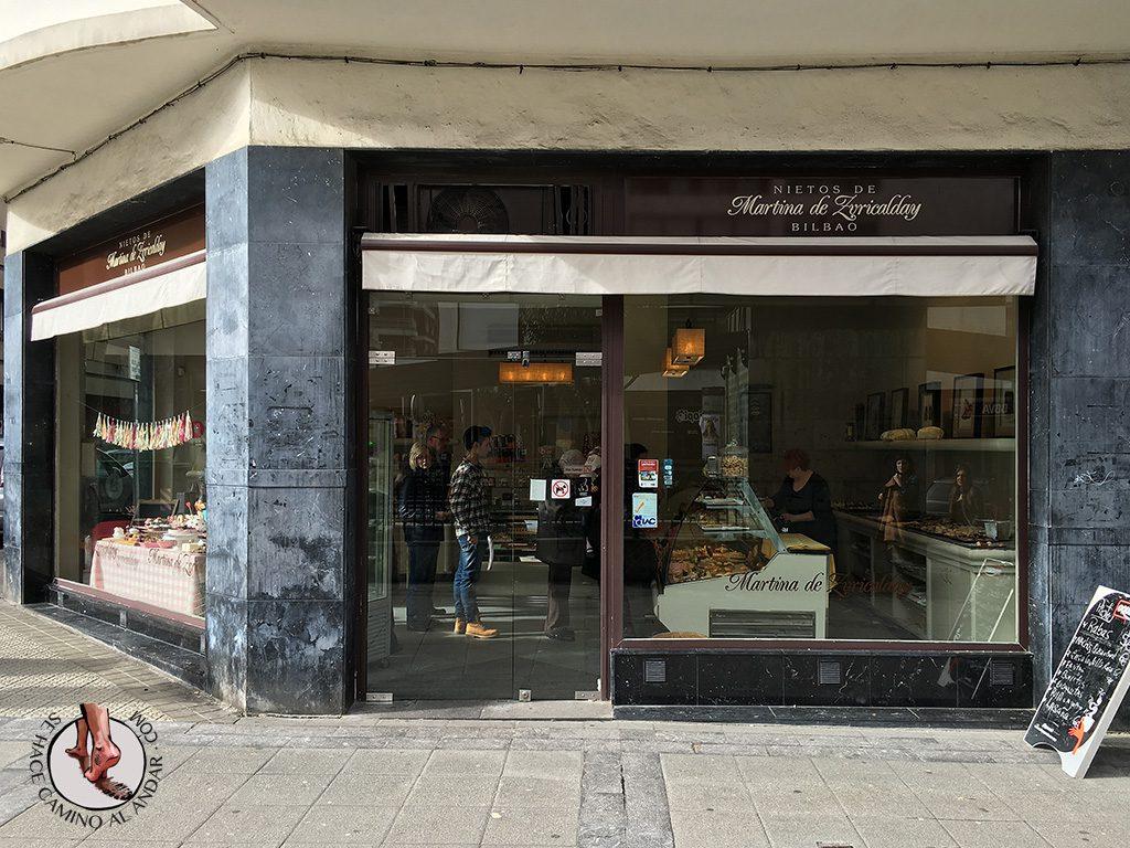Pasteleria Nietos Martina Zuricalday Bilbao