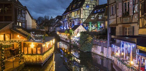 Postal viajera: Alsacia, tanto de noche como de día