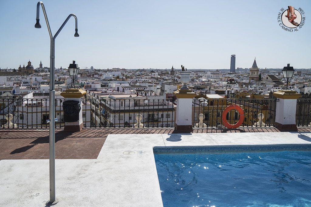 Piscina Hotel Macarena Sevilla
