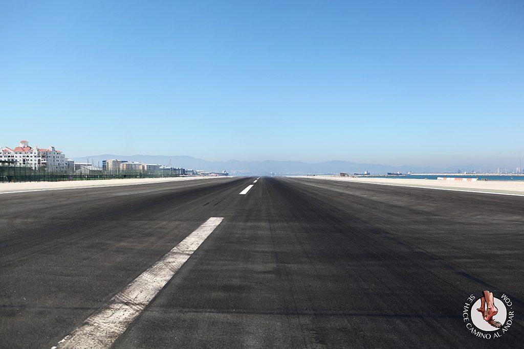 Pista aeropuerto Gibraltar