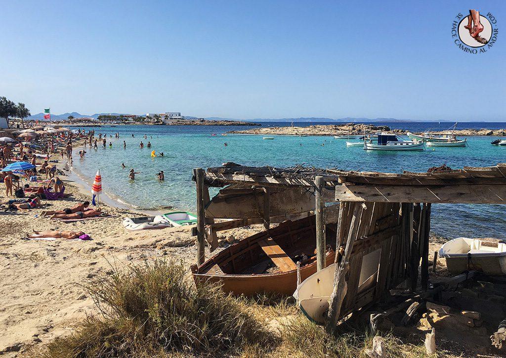 Playa Es Pujols Formentera