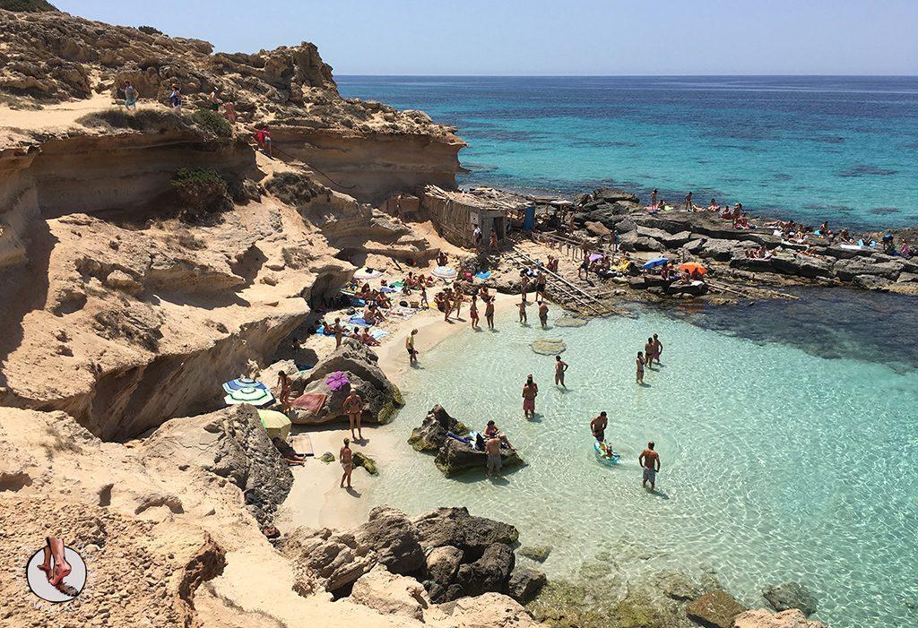 Playa Formentera Calo des Mort