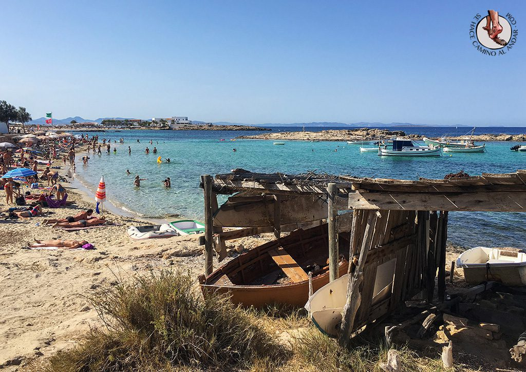 Playa Formentera Es Pujols
