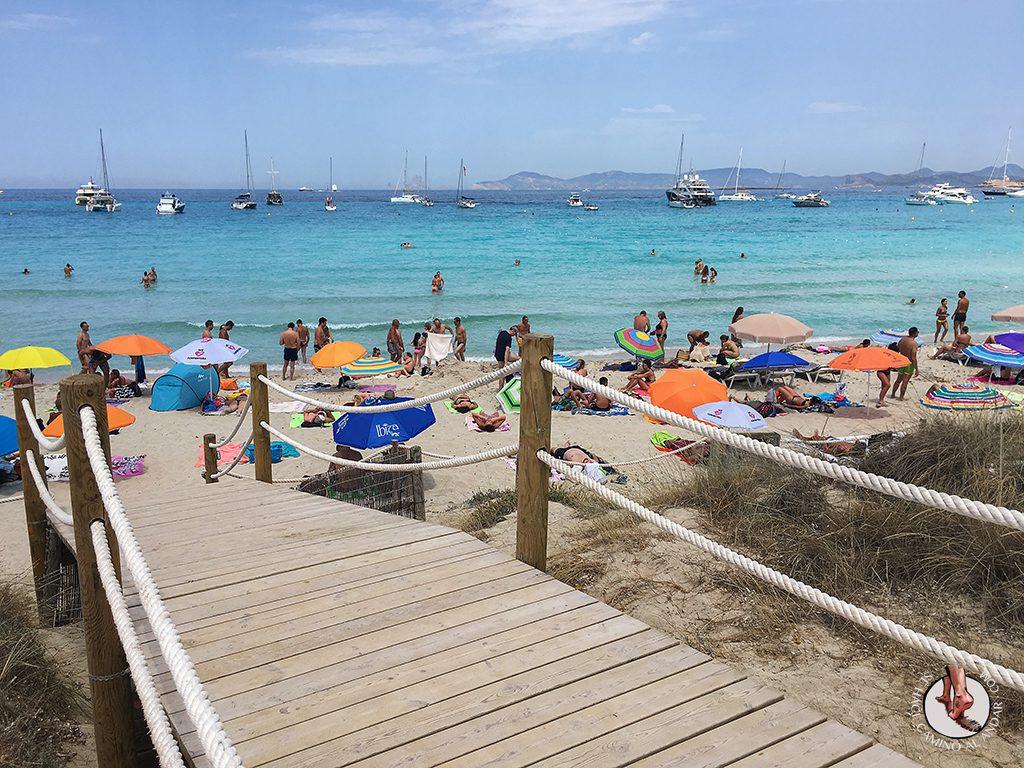 Playa Formentera Ses Illetes arena