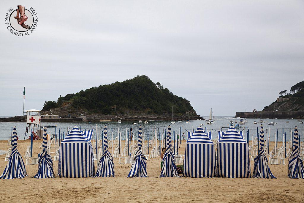 playas de San Sebastian Ondarreta