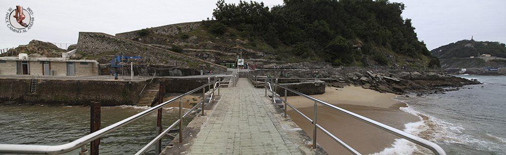 Playa San Sebastian Santa Clara embarcadero