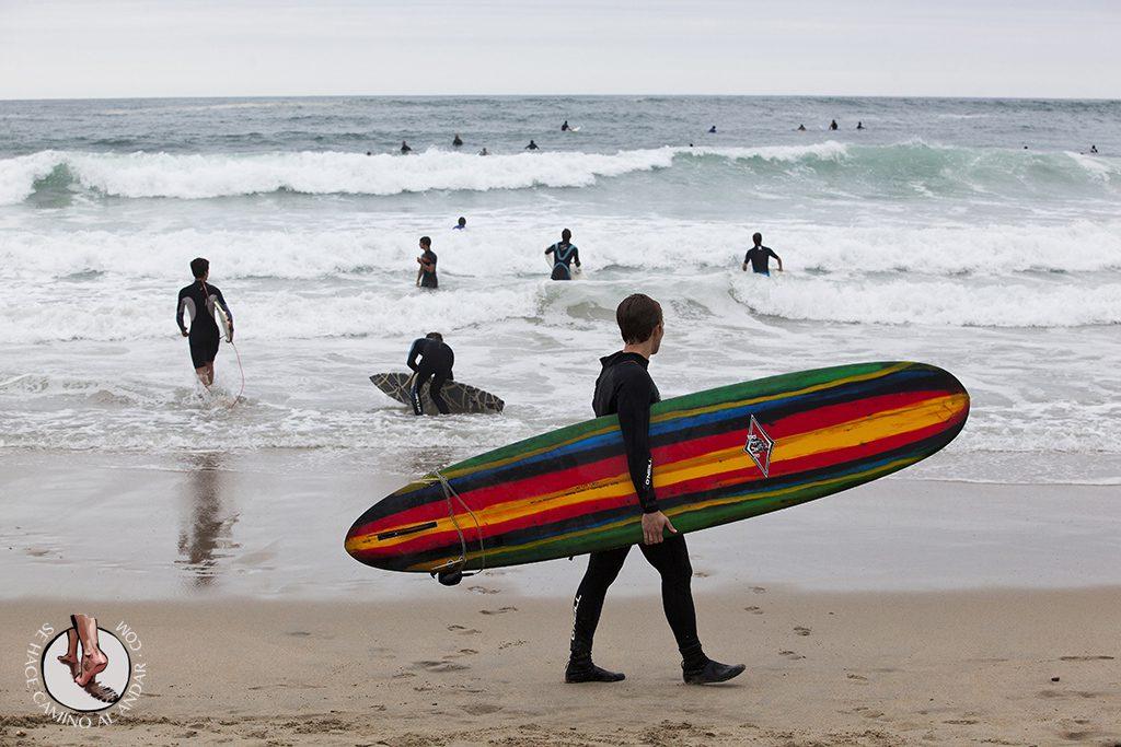 Playa San Sebastian Zurriola Surf