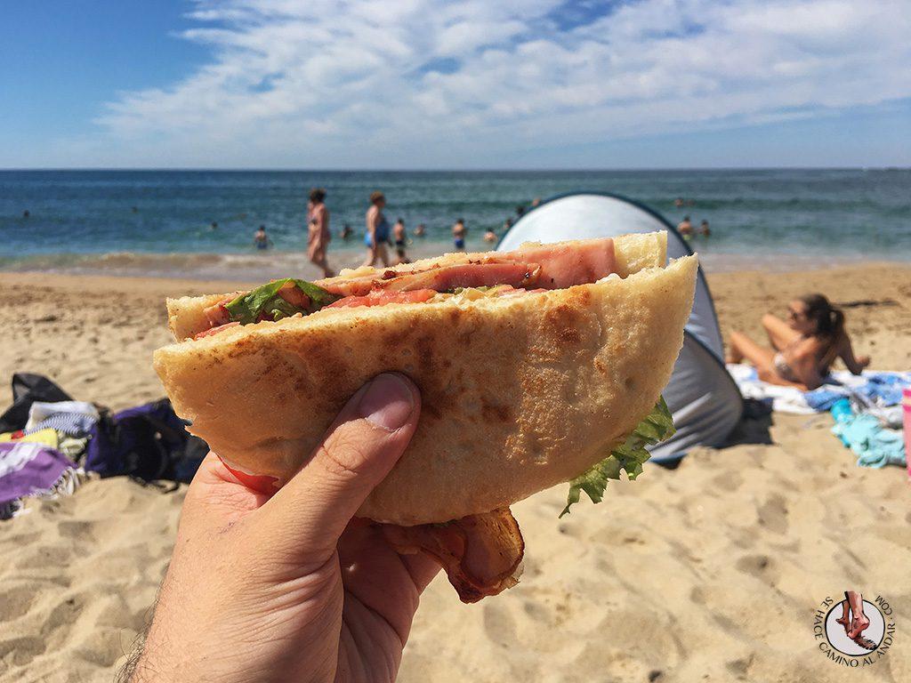 Playa Zurriola Campero bacon