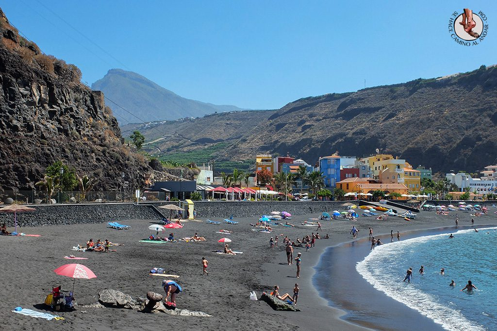 Playa arena negra Tazacorte