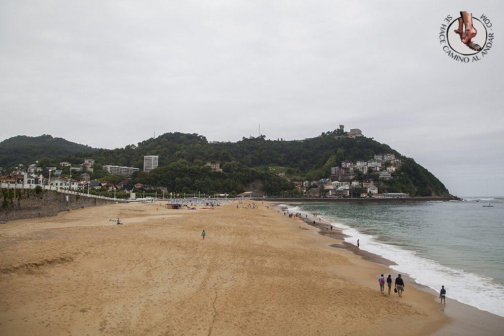 Playas San Sebastian vistas