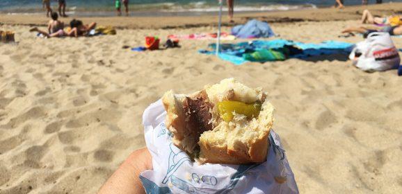 Comida para llevar a las playas de San Sebastián