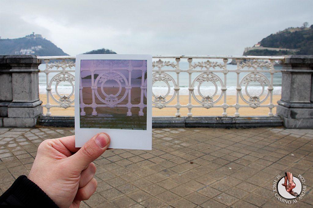 Polaroid Barandilla de la Concha