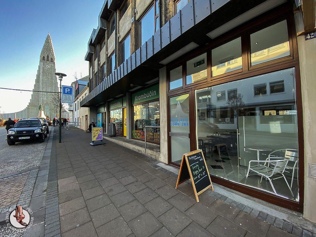 Presupuesto Islandia Reykjavik Downtown Hotel exterior