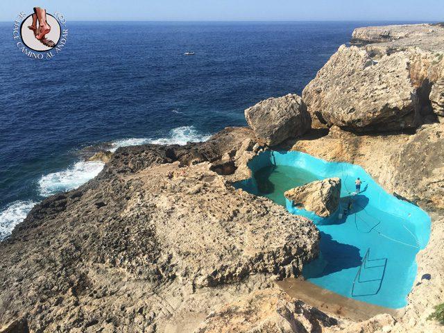 Problemas con la piscina natural de Mallorca 2