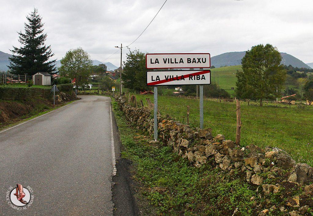 Pueblos con nombres raros Villarriba Villabajo