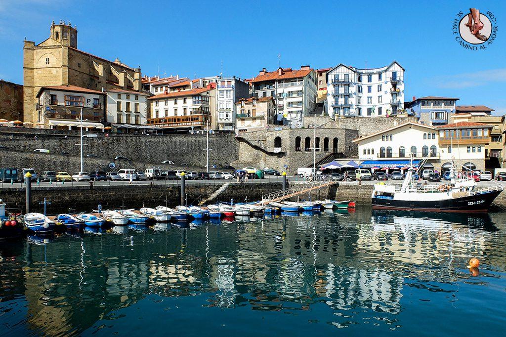 Pueblos mas bonitos de Euskadi Getaria puerto