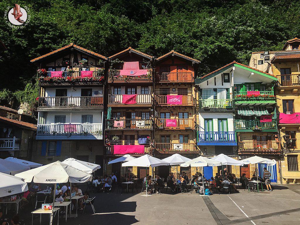 Pueblos mas bonitos de Euskadi Pasajes plaza