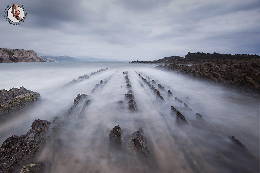 Pueblos mas bonitos de Euskadi Zumaia flysch