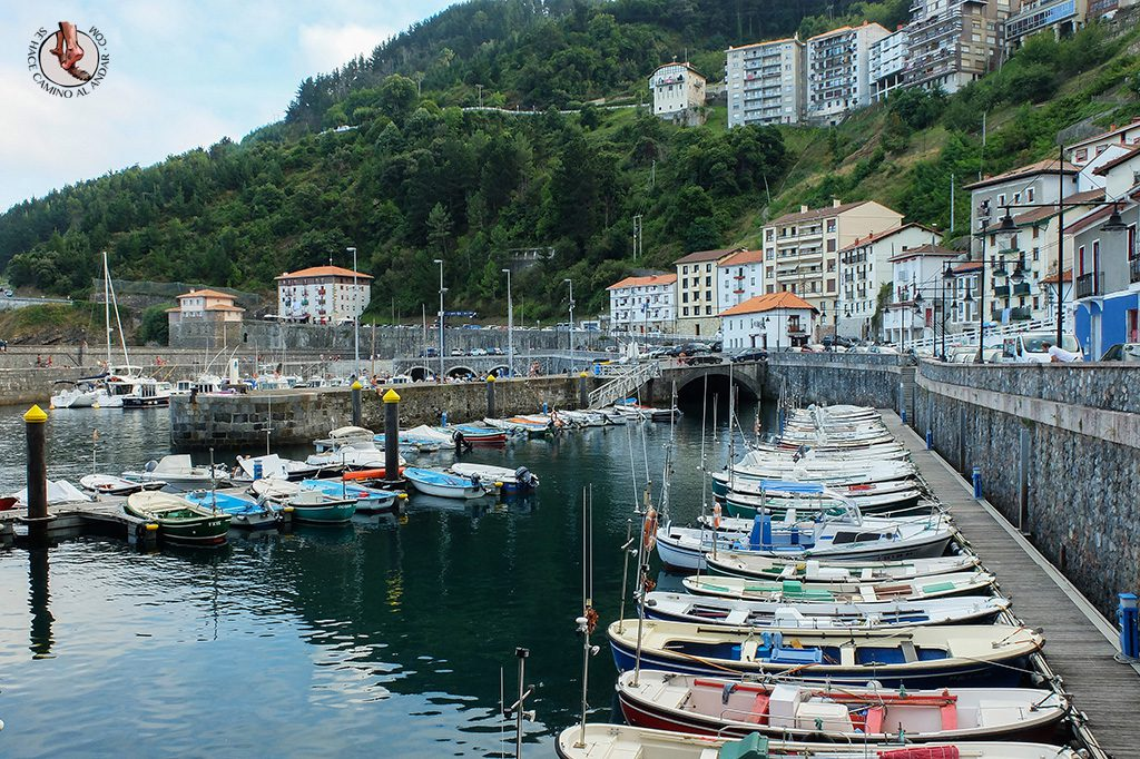 Puerto barcos Elantxobe