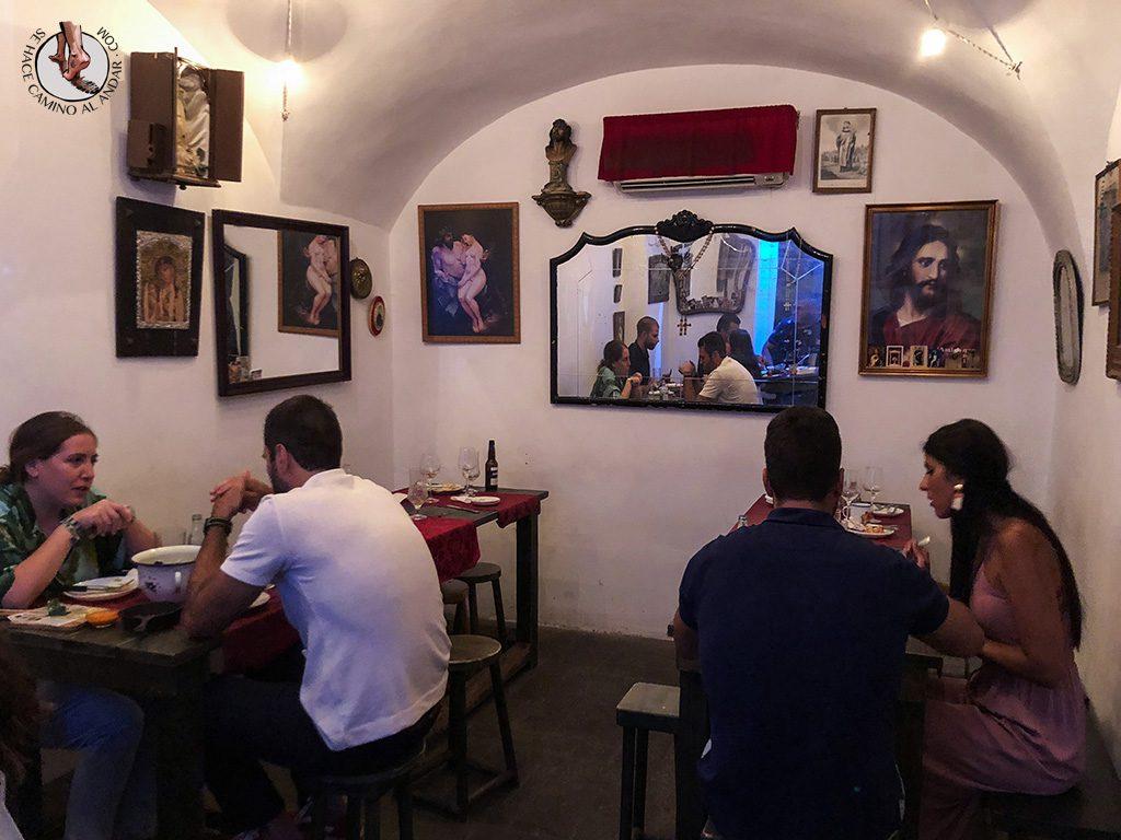 Qué ver en Cáceres Restaurante Trinidad