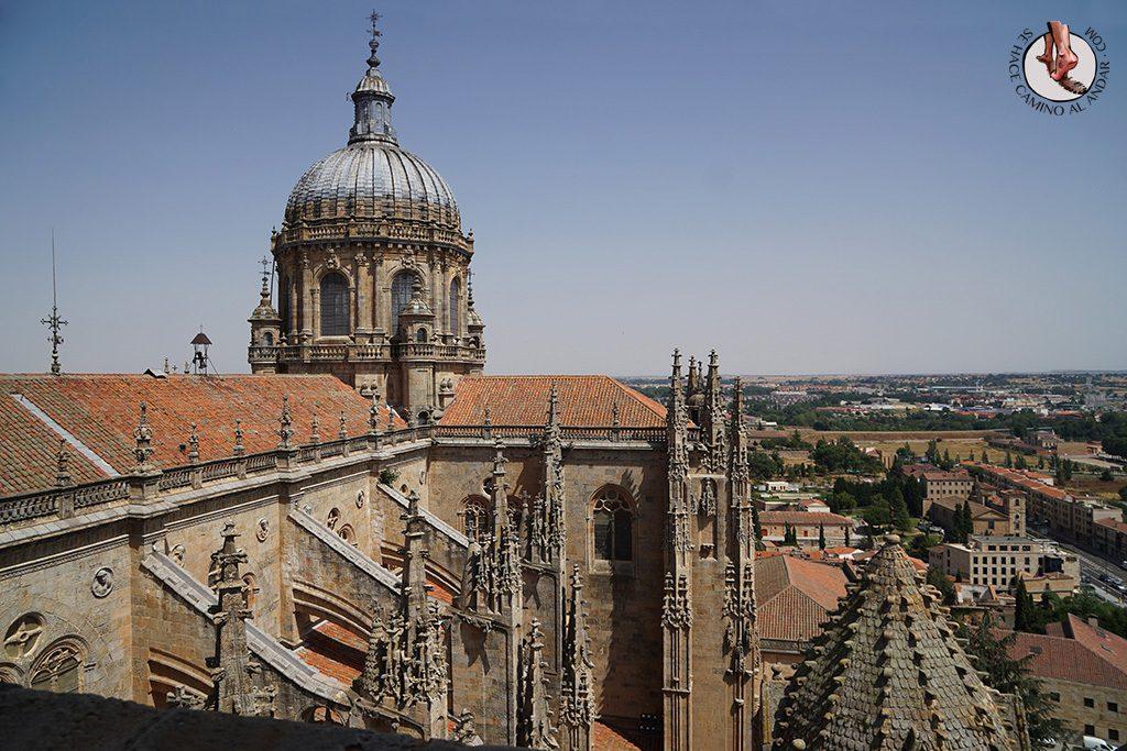 Que ver en Salamanca Catedral Torres ieronimus cupula