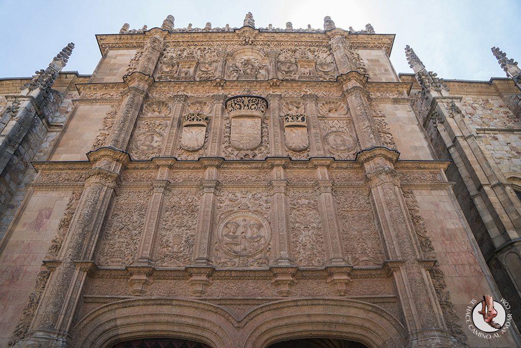 Que ver en Salamanca fachada