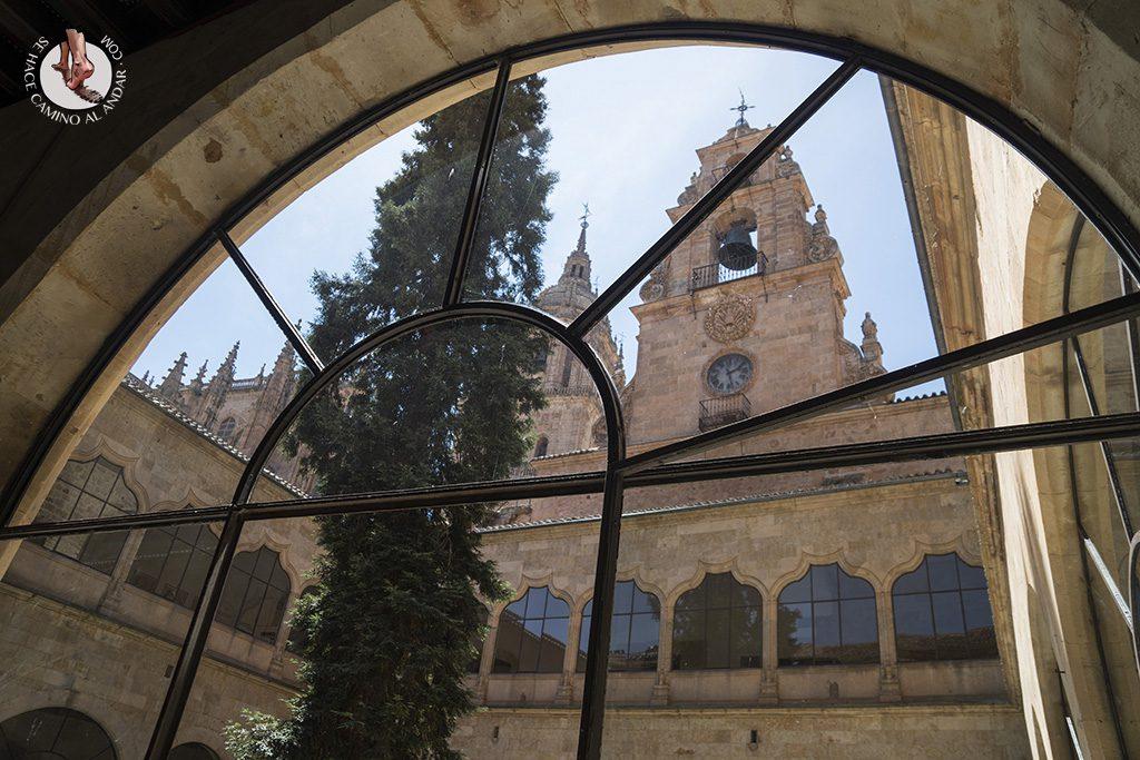 Que ver en Salamanca universidad patio