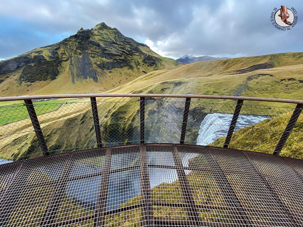 Ring Road 1-7 Cascada Skogafoss mirador