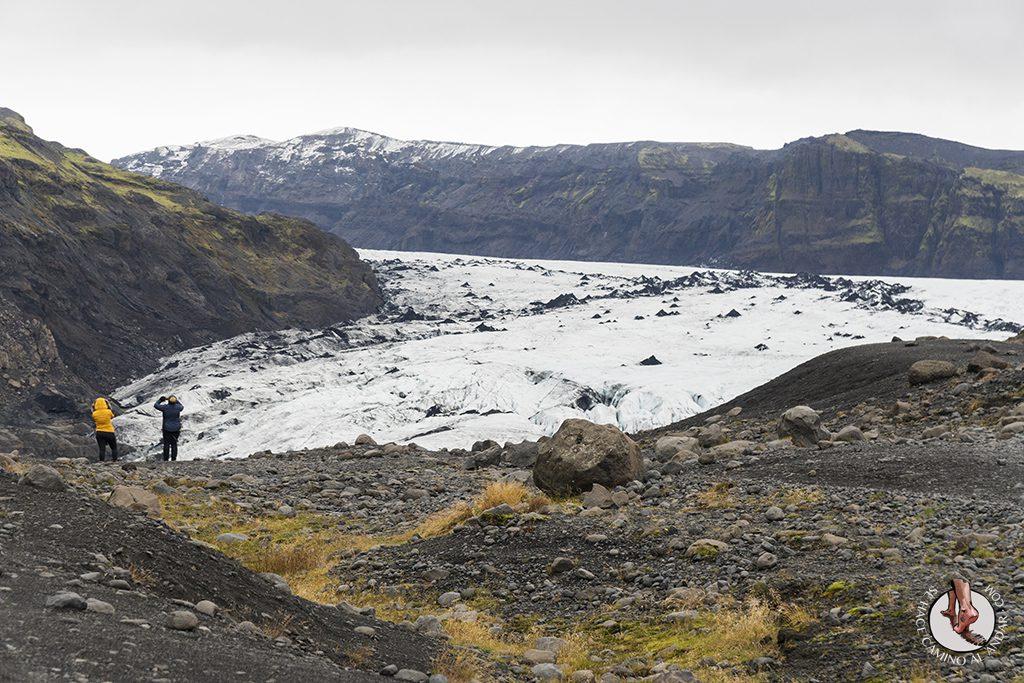 Ring Road 2-7 Glaciar Solheimajokull entrada