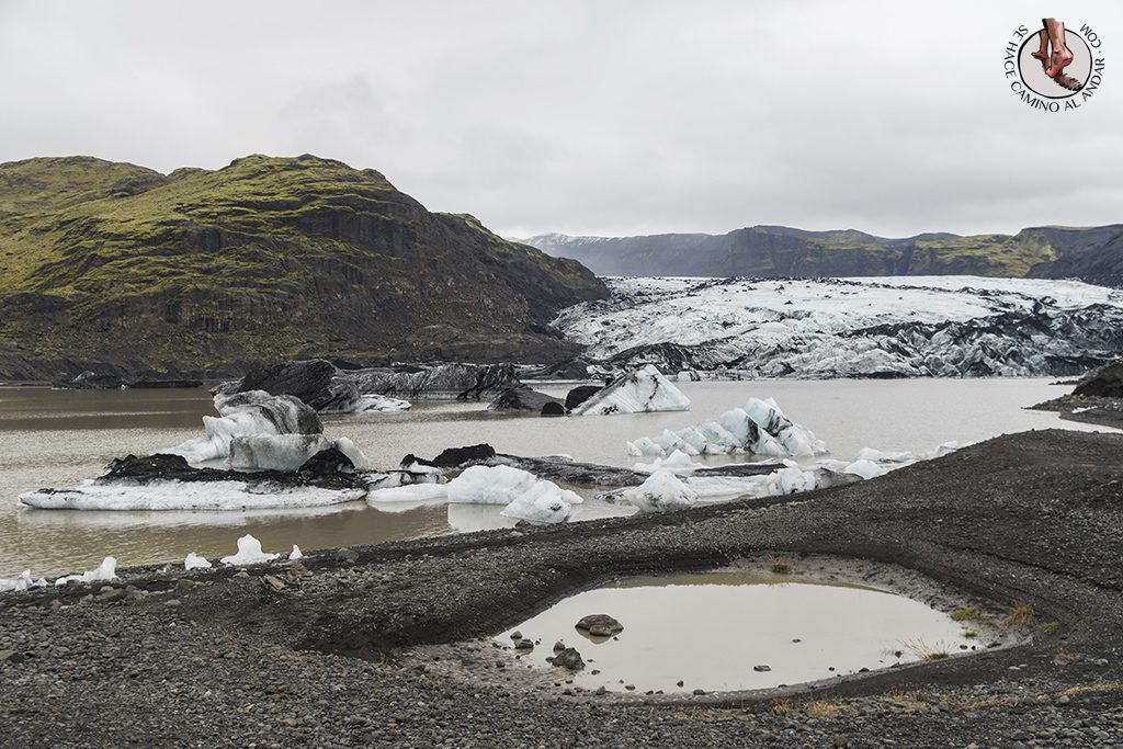 Ring Road 2-7 Glaciar Solheimajokull lagos